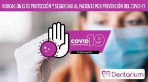 indicaciones de proteccion y seguridad al paciente